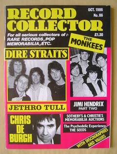 <!--1986-10-->Record Collector - October 1986 - Issue 86