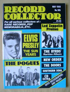 <!--1988-05-->Record Collector - May 1988 - Issue 105