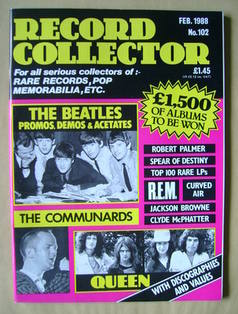 Record Collector - February 1988 - Issue 102