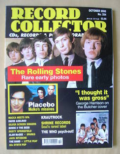 Record Collector - The Rolling Stones cover (October 2000 - Issue 254)