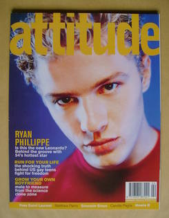 <!--1999-02-->Attitude magazine - Ryan Phillippe cover (February 1999 - Iss