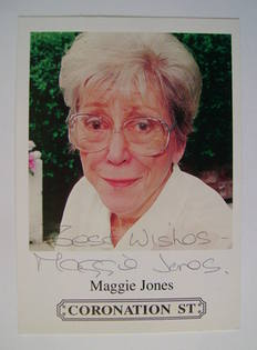 Maggie Jones autograph