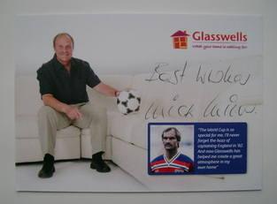 Mick Mills autograph