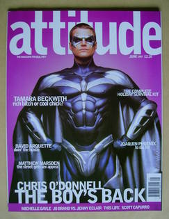 <!--1997-06-->Attitude magazine - Chris O'Donnell cover (June 1997 - Issue