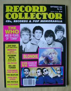 Record Collector - The Who cover (September 1999 - Issue 241)
