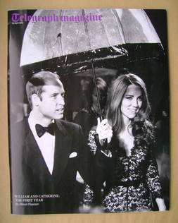 <!--2012-04-28-->Telegraph magazine - Prince William and Kate Middleton cov
