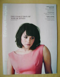 <!--2012-04-21-->Telegraph magazine - Norah Jones cover (21 April 2012)