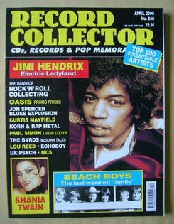 Record Collector - Jimi Hendrix cover (April 2000 - Issue 248)