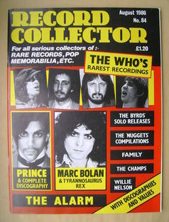Record Collector - August 1986 - Issue 84