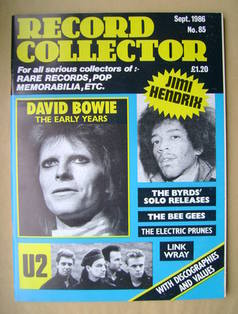 Record Collector - September 1986 - Issue 85