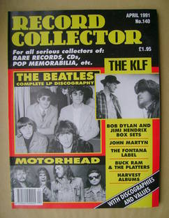 Record Collector - The Beatles cover (April 1991 - Issue 140)