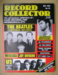 Record Collector - December 1988 - Issue 112