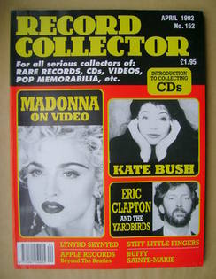 Record Collector - April 1992 - Issue 152