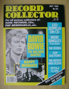 Record Collector - David Bowie cover (July 1990 - Issue 131)
