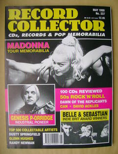 Record Collector - Madonna cover (May 1999 - Issue 237)