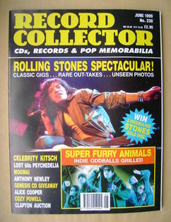 Record Collector - Mick Jagger cover (June 1999 - Issue 238)