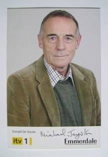 Michael Jayston autograph (signed photograph)