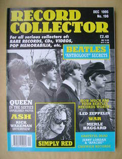 Record Collector - The Beatles cover (December 1995 - Issue 196)