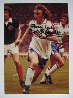 Kevin Beattie autograph