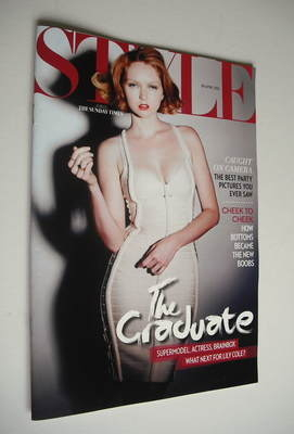 <!--2012-04-29-->Style magazine - Lily Cole cover (29 April 2012)