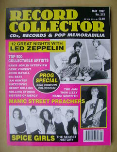 Record Collector - May 1997 - Issue 213