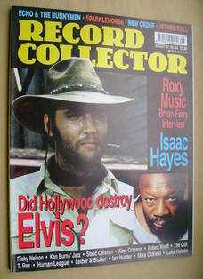 Record Collector - Elvis Presley cover (August 2001 - Issue 264)