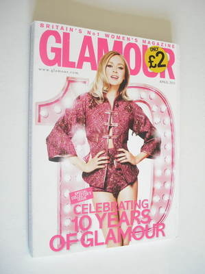 <!--2011-04-->Glamour magazine - Fearne Cotton cover (April 2011)