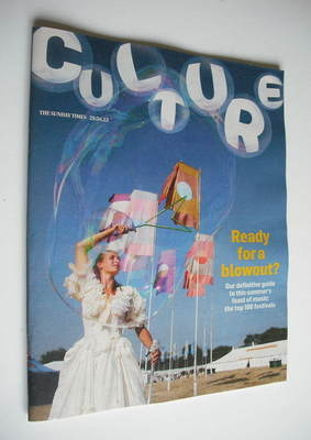 <!--2012-04-29-->Culture magazine - Ready For A Blowout cover (29 April 201