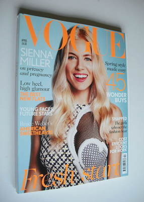 <!--2012-04-->British Vogue magazine - April 2012 - Sienna Miller cover