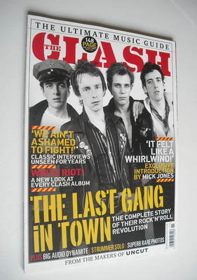 <!--2012-04-->Ultimate Music Guide magazine - The Clash cover (Issue 8 - Sp