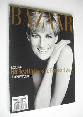 <!--1995-12-->Harper's Bazaar magazine - December 1995 - Princess Diana cov