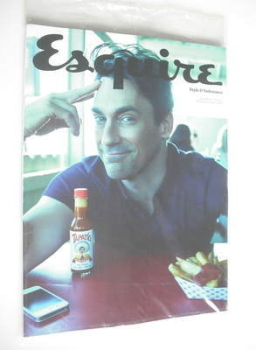 Esquire magazine - Jon Hamm cover (May 2012 - Subscriber's Issue)