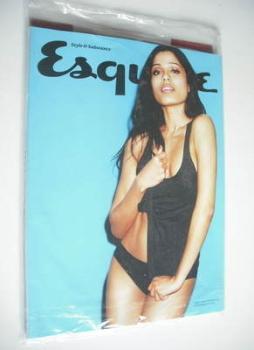 Esquire magazine - Freida Pinto cover (April 2012 - Subscriber's Issue)