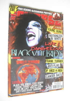 Big Cheese magazine - March 2012 - Andy Biersack cover