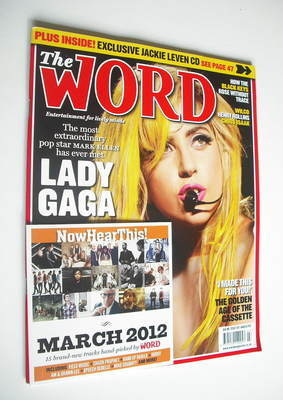 <!--2012-03-->The Word magazine - Lady Gaga cover (March 2012)