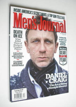 Men's Journal magazine - December 2011/January 2012 - Daniel Craig cover