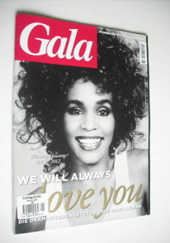 Gala magazine - Whitney Houston cover (16 February 2012 - German Edition)