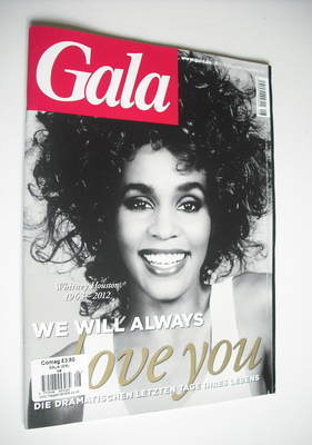 Gala magazine - Whitney Houston cover (16 February 2012)