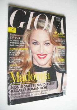 Gioia magazine - Madonna cover (31 March 2012)