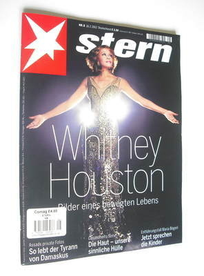 Stern magazine - Whitney Houston cover (16 February 2012)