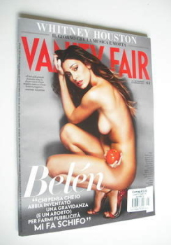 <!--2012-02-22-->Italian Vanity Fair magazine - Belen Rodriguez cover (22 February 2012)