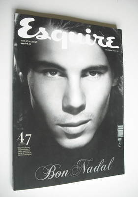 <!--2011-12-->Esquire magazine - Rafael Nadal cover (December 2011 - Spanis