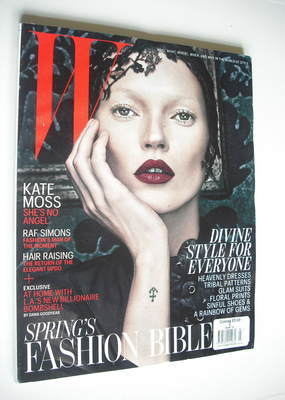 <!--2012-03-->W magazine - March 2012 - Kate Moss cover