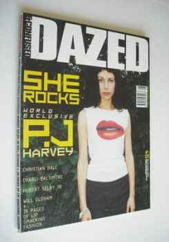 Dazed & Confused magazine (August 1998 - PJ Harvey cover)