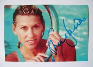 Sharron Davies autograph