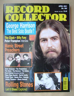 Record Collector - George Harrison cover (April 2001 - Issue 260)