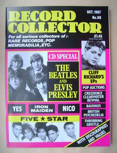 Record Collector - October 1987 - Issue 98