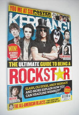 <!--2012-04-21-->Kerrang magazine - The Ultimate Guide To Being A Rock Star