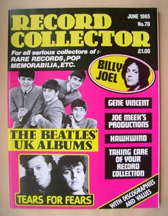 Record Collector - June 1985 - Issue 70