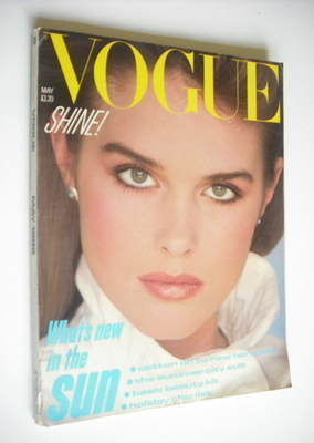 <!--1982-05-->British Vogue magazine - May 1982 (Vintage Issue)